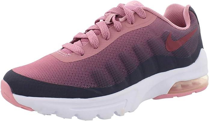 Nike Air MAX Invigor Print (GS), Zapatillas de Running para Mujer, Multicolor (Gridiron/Vintage Wine/Pink 002), 38 EU: Amazon.es: Zapatos y complementos