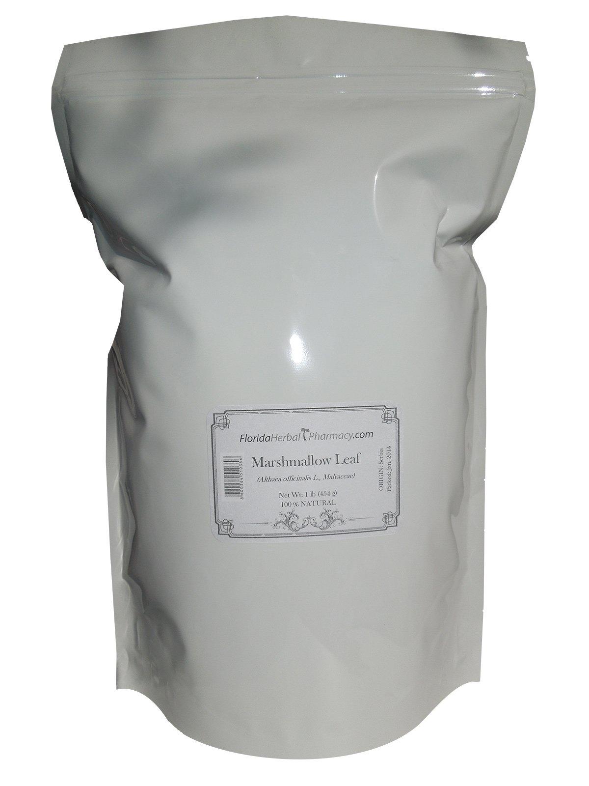 Florida Herbal Pharmacy, Marshmallow Leaf Tea, 1 Lb (16 oz)