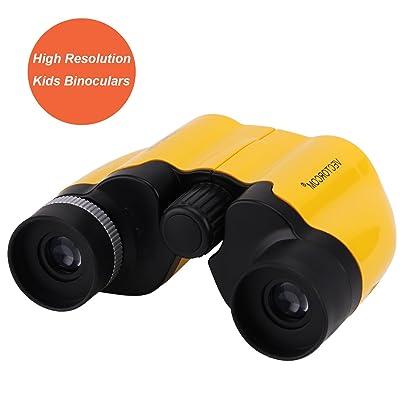 Jumelles pour enfants, enfants Jumelles pour observation des oiseaux extérieur pour enfants 8x 21mm