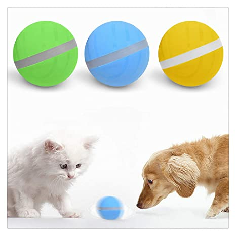 Mignon juguete pelotas coloréés para animales Pet perro gato Magic ...