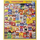 White Mountain Puzzles Potato Chips - 1000 Piece Jigsaw Puzzle