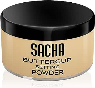 BUTTERCUP POWDER. No ashy flashback in selfies & photos. Flash-friendly loose face powder for Medium to Deep skin tones 1.25 oz