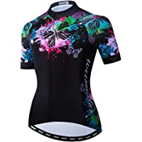 FPTB Womens Cycling Long Sleeve Jersey Autumn Winter Thermal Bicycle Clothes Suit Top Bike Racing Team Wear,S