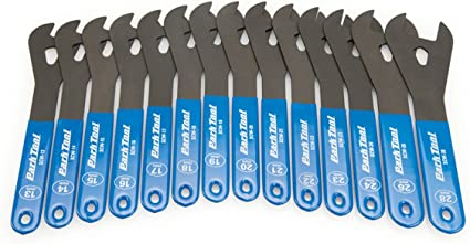 Park Tool SCW-SET.3 Cone Wrench 13 through 28 mm Bike Tool Pro 14 Spanners
