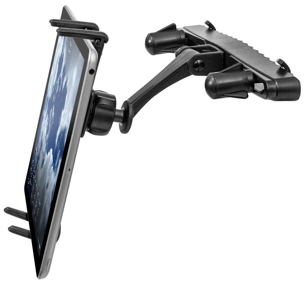 プレミアムBackseatホルダーヘッドレスト車マウントfor Motorola Moto e4 e5 Plus W/防振後部シートSwivel Cradle (またはケースのない) B07CZRM1XM  - -