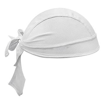 Unisex Sports Headwear Uomo Donna Cycling Skull Cap Quick Dry Bandana  Protezione solare UV Running Beanie 89e071ad9ea4