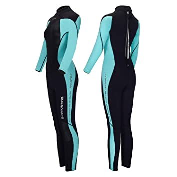 Amazon.com: Hevto Wetsuits Men and Women Guardian II 3mm ...