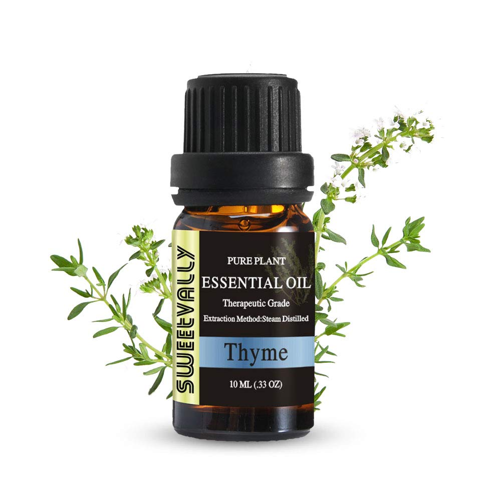 Thyme Essential Oil for Diffuser, Pure Essential Oil - 10ml