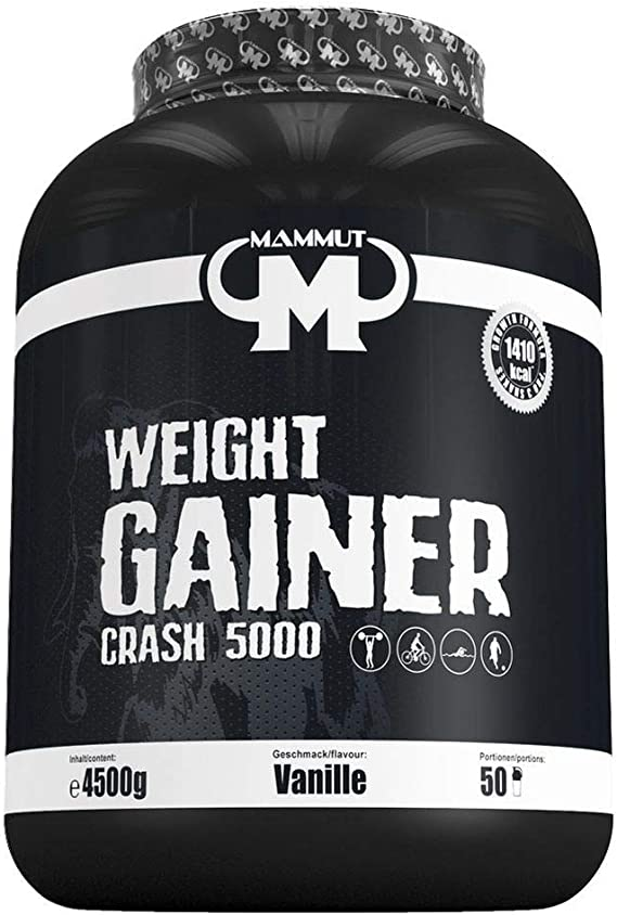 Mammut Weight Gainer Crash 5000 4500 g