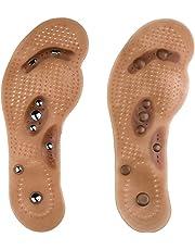 Semelles magnétiques de massage santé respirant pied pads acupressure prime réflexologie magnétique 1pcs