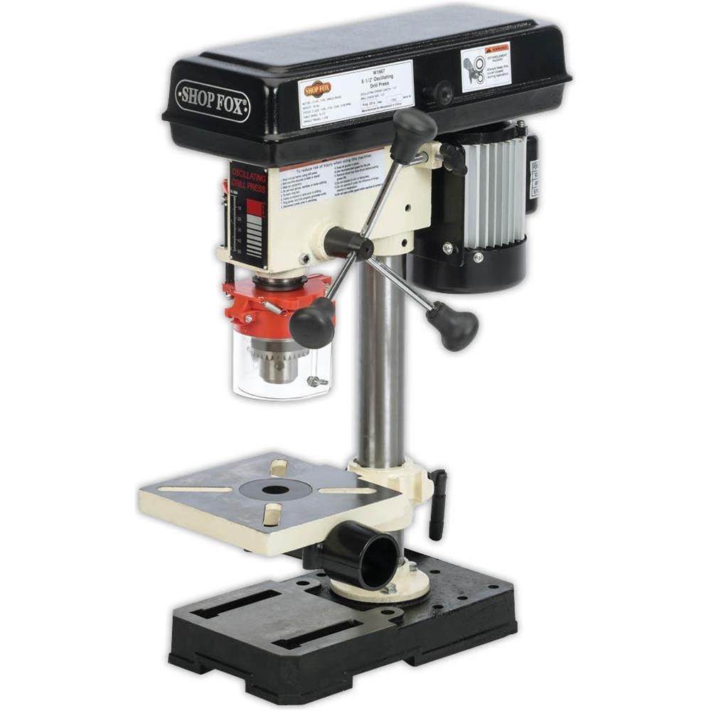 Shop Fox W1667 1/2 HP 8-1/2-Inch Bench-Top Oscillating Drill Press by Shop Fox