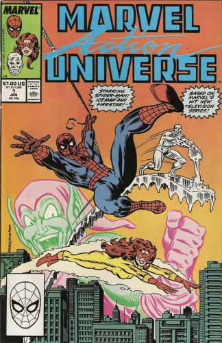 Marvel Action Universe #1: Starring Spider-Man and his Amazing Friends (Marvel Comics)