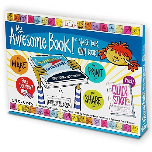 My Awesome Book   Create  Write And Illustrate Your Own Premium Size Hardcover Book Kit