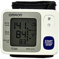 Omron HEM-6131-LA Control + Monitor de Presión Arterial de Muñeca Automático
