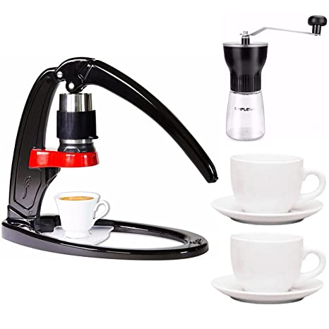 Amazon.com: Flair solo cafetera de espresso (Manual Prensa ...