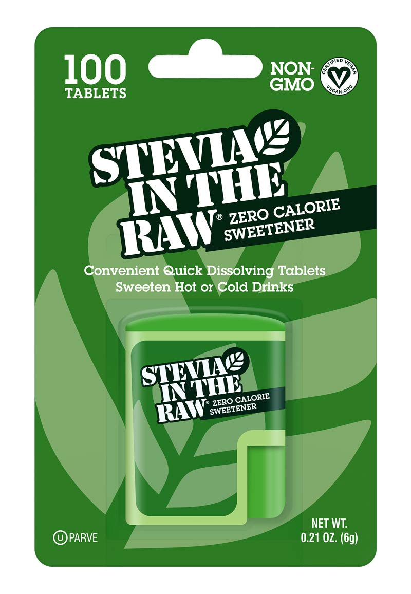 Stevia In The Raw Sweetener, 100 Count Tablets