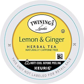 TWININGS 24 Cups Lemon Ginger Tea