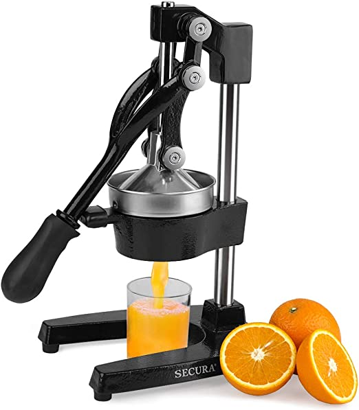 Secura Hand Juicer Hand Press Manual Fruit Juicer