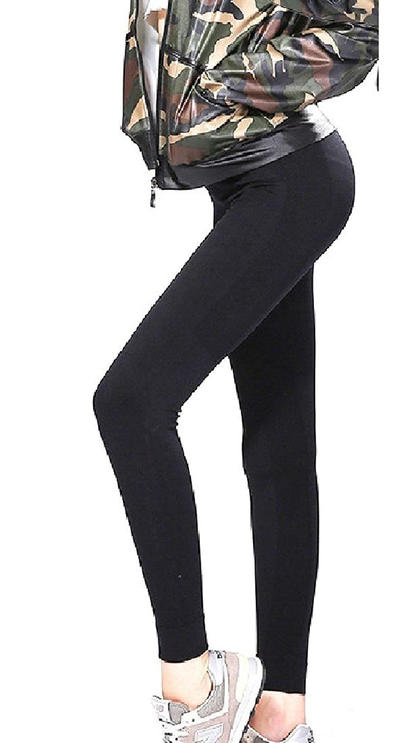 Abetteric Womens Skinny Tights Leggings Athletic Yoga Sports Pants Jeggings Tight
