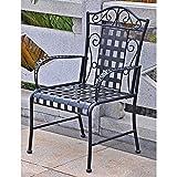 International Caravan Mandalay Iron Patio Chair – Set of 2 Review