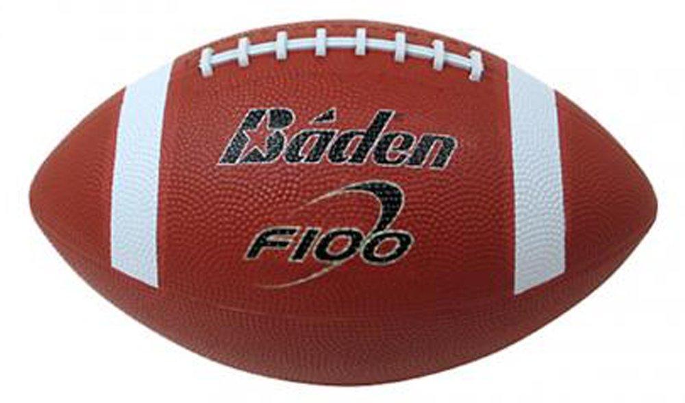 Baden niño F100 - Balón de fútbol americano para niño, color tan/blanco 301F100