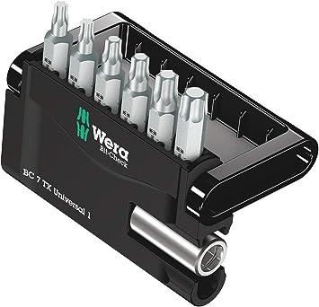 "Wera 74649 TORX TX30 Insert Bit With 1//4/"" Drive Pack Of 2"