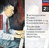 Classical Music : Rachmaninov: Piano Concertos 1-4