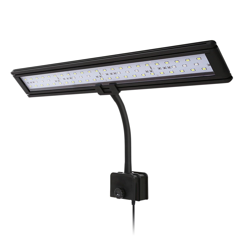 Aquarium LED-Klemmlampe, LED-Beleuchtung für Aquarien von 35-50 cm ...