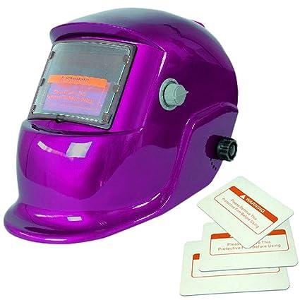 Caretas para Soldar Casco de Soldadura Gafas Escudo Máscara Multi-Formas Energía Solar Oscurecimiento Automático
