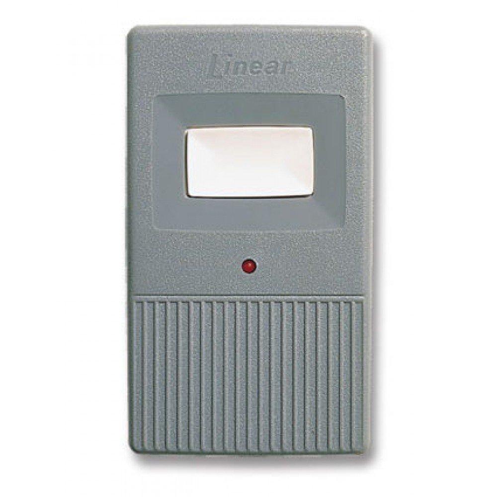 Linear DNT00083 Mega Code MCT-1 Single Button 1 Channel Visor Garage Door Remote - LD033 LD050 LS050 Compatible Transmitter