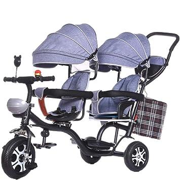 Amazon.com: YUMEIGE - Cochecito infantil de triciclo para ...