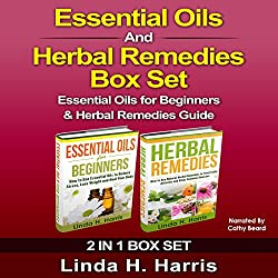 Essential Oils and Herbal Remedies Set
