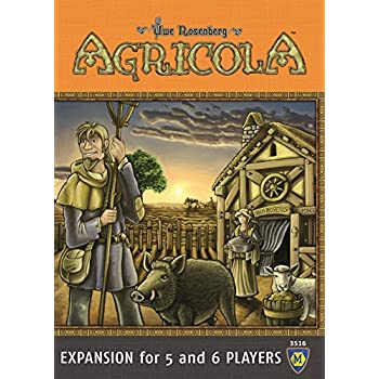 Agricola: Expansion For 5 & 6 Players Board Game