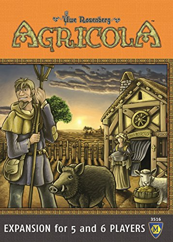 Game Board Player Expansion 6 (Agricola: Expansion For 5 & 6 Players Board Game)