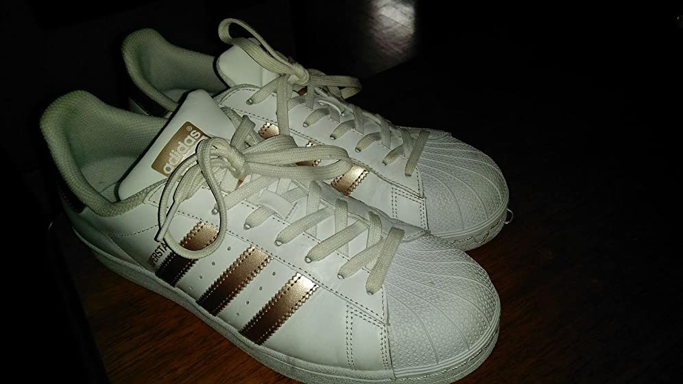 adidas Originals Women's Superstar Sneaker I purchased these shoes for my granddaughter. She just ...