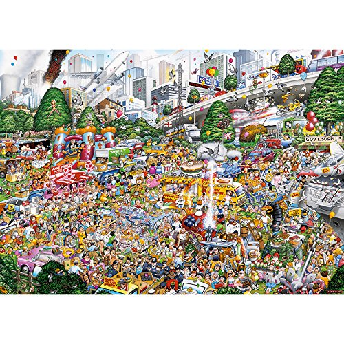 Gibsons I Love Car Boot Sales Jigsaw Puzzle (1000 Piece) Puzzle