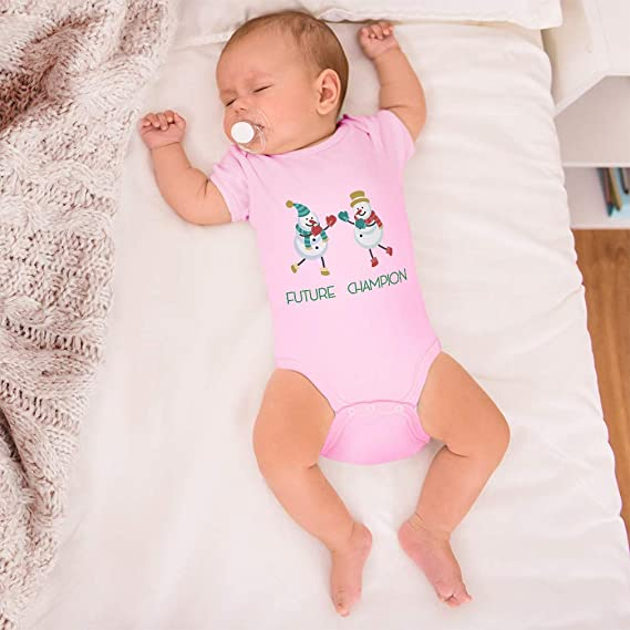 Boxing champion baby bodysuit Baby boy cute clothes. Future champion baby clothes with panda print