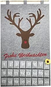 Vosarea - Calendario navideño de Fieltro, alfombras de ...