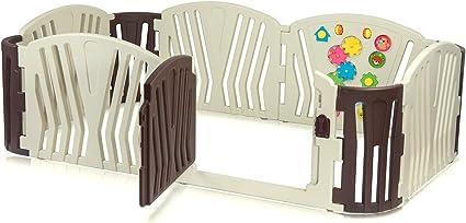 Box Bambini Recinto Cancelletto Protezione Sicurezza Barriera Giochi Baby Vivo