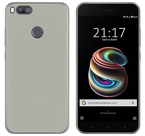 Tumundosmartphone Funda Gel TPU para XIAOMI MI 5X / MI A1 Color Transparente