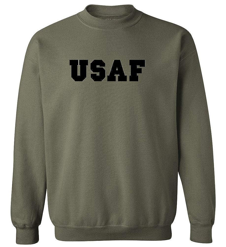 Joes USA USAF Air Force Military Logo T-Shirts Regular Big and Tall Sizes