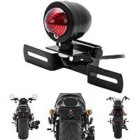 TUINCYN Motorfiets Rood Achterlicht Brake Stop Running Indicatoren Lamp met Nummerplaat Frame Motor Achterlicht Voor…