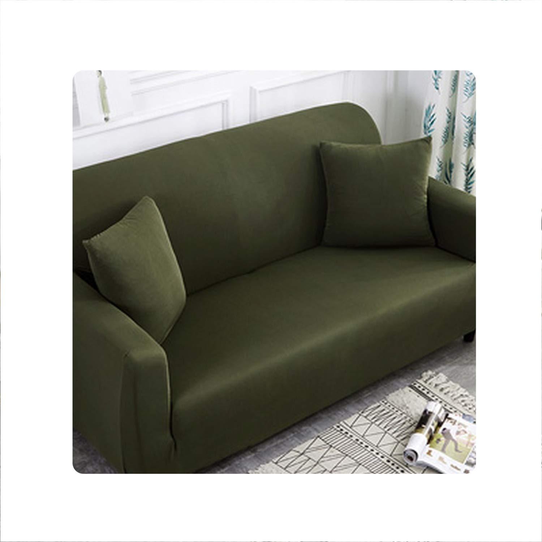Amazon.com: Holiday-Online-Store Plain Elastic Stretch Sofa ...