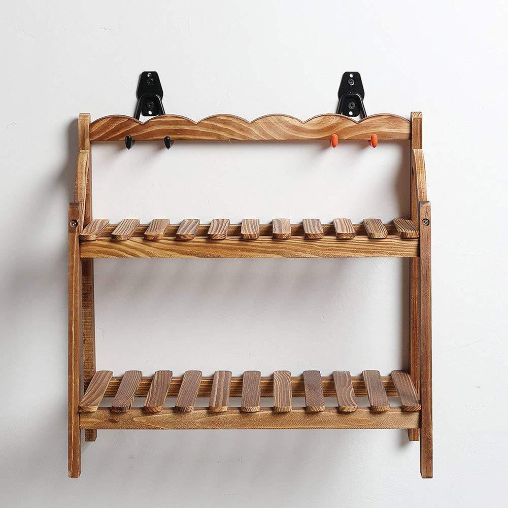 Outtybrave Heavy Duty Crochets de Rangement Support Mural /Échelle Garage Abri v/élos Crochets Outil de Jardin M/étal 2X Hooks+2 Set Screws Orange