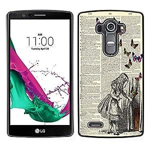 Dragon Case - FOR LG G4 - Accept what is unchangeable - Caja protectora de pl??stico duro de la cubierta Dise?¡Ào Slim Fit