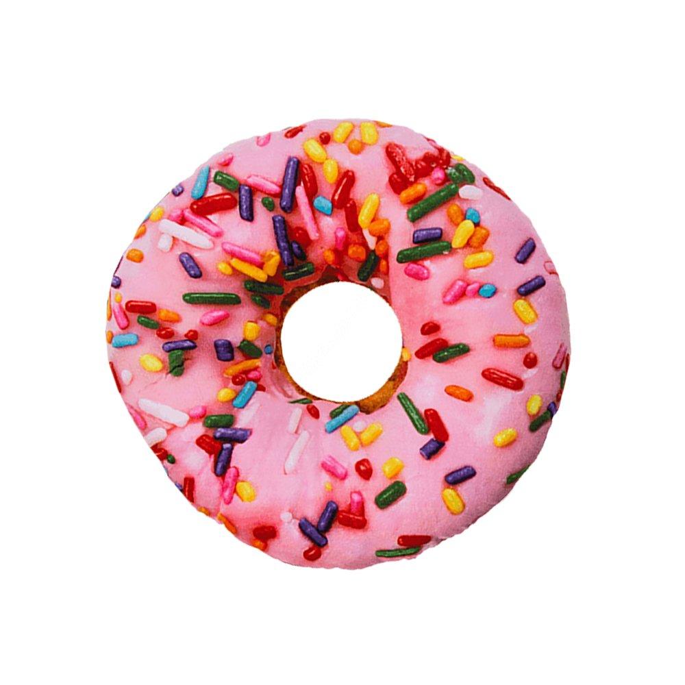 Zierkissen Sofakissen Donut Kissen Preis am Stiel/® Deko Kissen Donut rosa Geschenk f/ür Freundin Schmusekissen f/ür Kinder Kuschelkissen