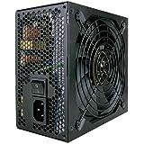 Fonte 500w C3Tech ATX Gamer PS-G500B Preto - Potência 500W Cooler 120mm Silêncioso Compatível com AMD/Intel Selo 80Plus Bronz