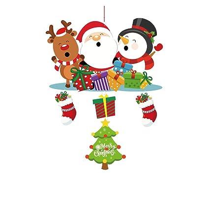 Cute Christmas.Amazon Com Mome Cute Christmas Pendant 2 Pcs Set Santa