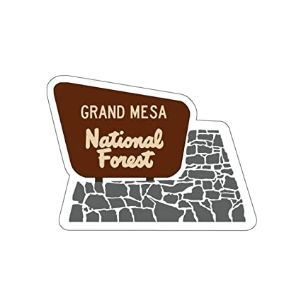Amazon.com : Grand Mesa National Forest Entrance Sign Vinyl ...