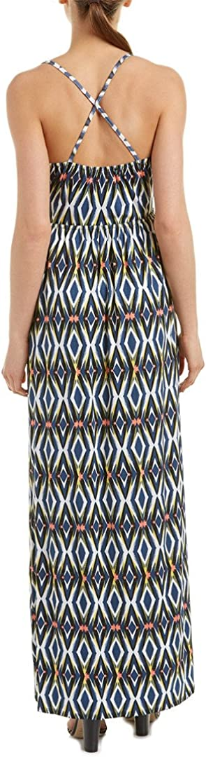 Matison Stone Womens Key Hole Maxi Dress Casual Sundress